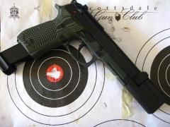 Beretta 92 compensated pistol_2
