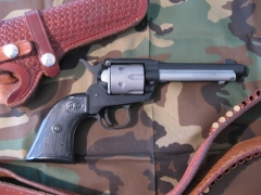 Revolver refinished by acoating.com in cerakote gun coatings_1