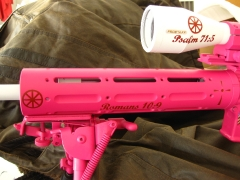 Tactical Ar-15 in pink and white_3