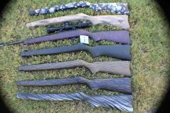 10/22 Rifle stock multiple designs_1